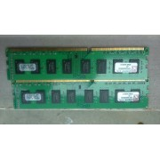 Kingston - Value Ram 2x2 Go - DDR3 1333 MHz Cas 9 KVR13N9S6/2 2 Go DDR3 PC3-10600 - Cas 9 - KVR13N9S6/2