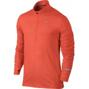 Nike Dri-FIT Element Half-Zip LS Shirt Men Turf Orange/Reflectiv Trail Running Bekleidung