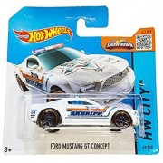 Hot Wheels - HW City 49/250 - Ford Mustang GT Concept on Short Card (white)