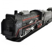 Wishkey Black Plastic LED Super Train Set