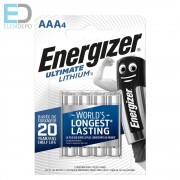 Energizer Ultimate Lithium AAA LR03 B4
