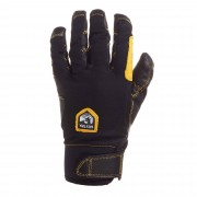 Hestra Ergo Grip Active 5-finger Unisex Gr. 8 - schwarz gelb / black/black - Fingerhandschuhe