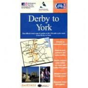 Fietskaart Derby to York NNB | Sustrans