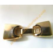 Cierre gancho dorado interior 13 mm
