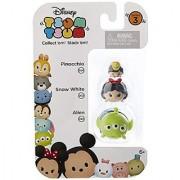 Disney Tsum Tsum Series 3 Pinocchio Snow White & Alien 1 Minifigure 3-Pack #304 202 & 242