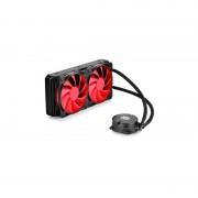 Cooler CPU Deepcool Maelstrom 240 negru / rosu