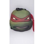 TMNT Ninja Turtles Turtle Head Plush Doll Backpack Raphael Red Costumes Bag