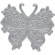 Die-Namites Flowery Butterfly Die 3 by 2.625-Inch