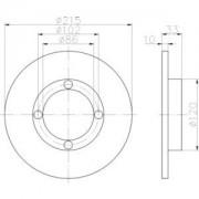 Ersatzteile Zweirad Bremsanlage Bremsscheibe/Zubehör