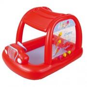 Jilong Ice Cream Car Pool - piscinetta per bambini con motivo carretto dei gelati, per bambini da 1 a 3 anni, 166x116x105 cm