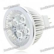 MR16 4W 360 Lumen 6500K 4-LED White Light Spot Light Bulb (12V)