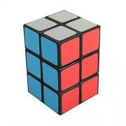 Dodolive 2x2x3 Square Column Brain Teaser Magic Cube Funny Educational Plastic Puzzle,Black
