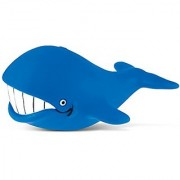 Puzzled Big Whale Rubber Squirter Bath Buddy Bath Toy - Ocean Sea Life Collection - 3 INCH - Affordable High Quality Gif
