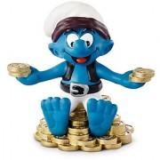 Schleich Treasure Smurf Toy Figure