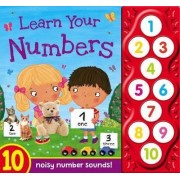 Learn Your Numbers - First Learning Sounds by Igloo Books