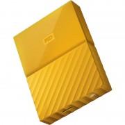 Hard disk extern Western Digital My Passport New 2TB 2.5 inch USB 3.0 Yellow