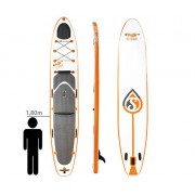 Skiffo S-222 - Stand Up Paddle Gonflable duo Destockage