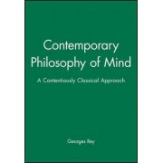 Contemporary Philosophy of Mind by Georges Rey