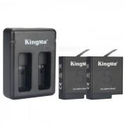 Kingma gopro 1220mAh baterias + cargador para gopro heroe 5
