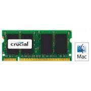 Crucial CT2G2S667MCEU Memoria per Mac da 2 GB, DDR2, 667 MHz, (PC2-5300) SODIMM, 200-Pin
