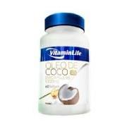 Óleo de Coco - 60 cápsulas - VitaminLife