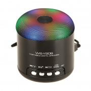 Mini boxa bluetooth cu leduri colorate WS-Y90B