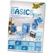 Folia Papier Avec Motif Basics Bleu 1 Unité(S)