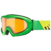 Gafas de esquí Uvex Cevron, color - Green Mat/Lgl