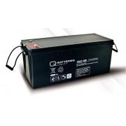 Batería de plomo AGM cíclica 12v 193Ah 12LC-180 Q-Batteries
