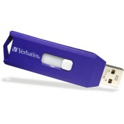 Verbatim Slider 8GB Pendrive USB 2.0 (BLUE)