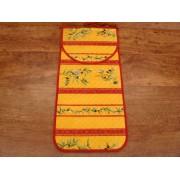 Bolsa de Pan de Algodón - Modelo UZÉS - Amarillo