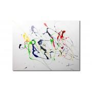 - Tableau peinture design - Horacio