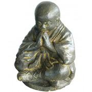 Bronzen Shaolin Monk Urn (4 liter)