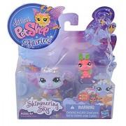 Littlest Pet Shop Fairies Shimmering Sky Morning Haze Fairy #2710 Luna Moth #2711