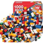 Great Gift For Kids ! 1000 PIECE ASSORTED TOY CONSTRUCTION BUILDING BRICKS / Toys Play Game Toddler Boys Girls Unisex Cool Educational Shop Store Christmas XMAS Classic Popular Unique Preschool Discount Child Childrens Creative Learning Building Special P