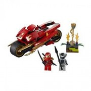 Toy / Game Great Lego Ninjago Kais Blade Cycle 9441 Rattle Minifigures Golden Hypnobrai Staff & Ninja Swords