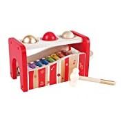 """Hape HAP-E0329 """"Pound n Tap Bench 30th Anniversary"""" Toy"""