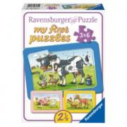 RAVENSBURGER My First Puzzle - Dierenvriendjes 6 stukjes