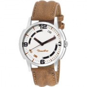 Timebre Men Bold Ivory Casual Analog Watch