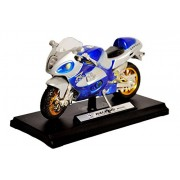 Toyshine Musical Toy Bike - Made of Metal and Plastic - LIGHTS AND MUSIC - Beautiful Design - Blue