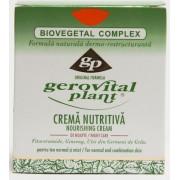 Gerovital Plant Crema Nutritiva