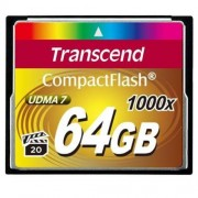 Transcend 64GB CF Card (1000X)