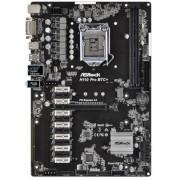 Placa de baza ASRock H110 Pro BTC+, Intel H110, LGA 1151