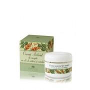 Crema antirid de noapte cu ulei de catina si masline, 50 ml