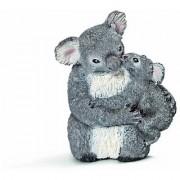 Schleich Koala Bear With Cub Toy Figure