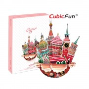 City Scape Moscova - Puzzle 3D - 68 de piese