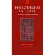 Philodemus in Italy by Marcello Gigante