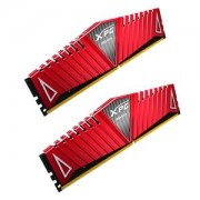 Memorie AData XPG Z1 Red 8GB (2x4GB) DDR4, 2400MHz, PC4-19200, CL16, Dual Channel Kit, AX4U2400W4G16-DRZ