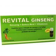 Revital Gingseng Jalea real Vitamina C 20 Ampollas