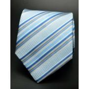 Világoskék, csíkos nyakkendő